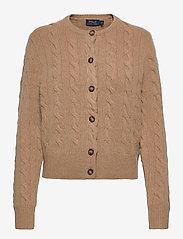 Polo Ralph Lauren - Buttoned Wool-Blend Cardigan - cardigans - luxury beige heat - 0