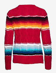 Polo Ralph Lauren - Striped Cable-Knit Sweater - jumpers - serape - 2