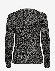 Polo Ralph Lauren - Cable-Knit Wool-Blend Sweater - jumpers - black/cream ragg - 2
