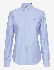 Polo Ralph Lauren - LT WT OXFORD-LSL-SHT - long-sleeved shirts - blue hyacinth - 0