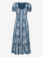 Polo Ralph Lauren - Floral Cotton Dress - everyday dresses - 755 midnight blue - 1