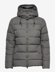 Belmont Down-Filled Jacket - DARK METAL