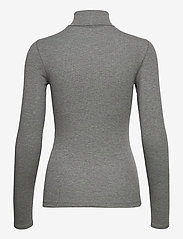 Polo Ralph Lauren - 36/1'S TENCEL RIB-LSL-KNT - turtlenecks - boulder grey heat - 2