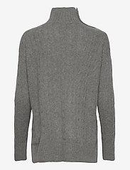 Polo Ralph Lauren - Buttoned-Placket Turtleneck - turtlenecks - antique heather - 2