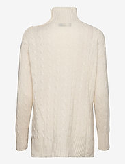 Polo Ralph Lauren - Buttoned-Placket Turtleneck - turtlenecks - cream - 1
