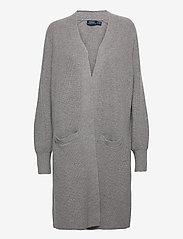 Polo Ralph Lauren - Ribbed Wool-Blend Cardigan - cardigans - fawn grey heather - 0