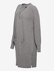 Polo Ralph Lauren - Ribbed Wool-Blend Cardigan - cardigans - fawn grey heather - 2