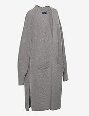 Polo Ralph Lauren - Ribbed Wool-Blend Cardigan - cardigans - fawn grey heather - 3