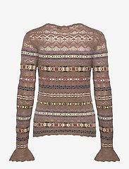 Polo Ralph Lauren - Fair Isle Crewneck Sweater - jumpers - tan multi - 2