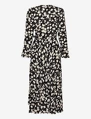 Polo Ralph Lauren - Floral Wrap Dress - everyday dresses - 766 black/white i - 2