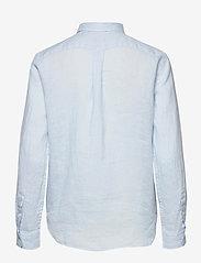 Polo Ralph Lauren - Relaxed Fit Linen Shirt - langærmede skjorter - beryl blue - 1