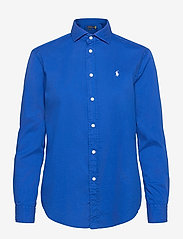 Polo Ralph Lauren - Relaxed Fit Cotton Twill Shirt - langærmede skjorter - sapphire star - 1