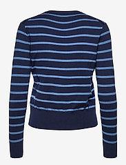 Polo Ralph Lauren - PIMA JSY STRETCH-LSL-SWT - cardigans - blue multi - 2