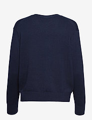 Polo Ralph Lauren - COTTON JERSEY-LSL-SWT - cardigans - hunter navy - 2