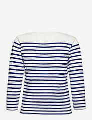 Polo Ralph Lauren - Beaded Boatneck Shirt - trøjer - deckwash white/he - 1