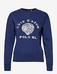 Polo Ralph Lauren - Côte d'Azur Fleece Sweatshirt - sweatshirts - vineyard royal - 1