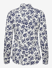 Polo Ralph Lauren - Floral Cotton Button-Down Shirt - langærmede skjorter - 883 navy/cream fl - 2