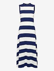 Polo Ralph Lauren - PIMA TENCEL RIB-SLS-CSD - sommerkjoler - holiday navy/nevi - 1