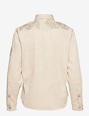 Polo Ralph Lauren - Beaded Cotton Twill Shirt - langærmede skjorter - english cream - 2