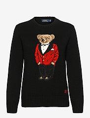 Polo Ralph Lauren - Lunar New Year Polo Bear Sweater - trøjer - polo black - 0