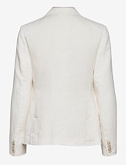 Polo Ralph Lauren - Double-Breasted Linen Blazer - dobbeltradede blazere - nevis - 2