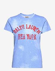 Polo Ralph Lauren - Graphic Logo Cotton Tee - t-shirts - harbor island blu - 1