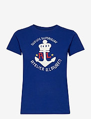 Polo Ralph Lauren - Anchor Graphic Cotton Tee - t-shirts - heritage royal - 1