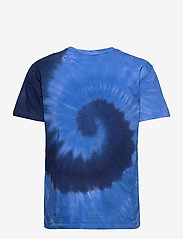 Polo Ralph Lauren - Big Fit Tie-Dye Tee - t-shirts - blue ocean spiral - 2