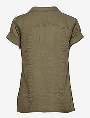 Polo Ralph Lauren - SS GNIS TP-SHORT SLEEVE-SHIRT - kortærmede skjorter - basic olive - 1