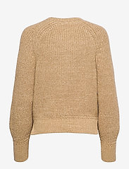 Polo Ralph Lauren - BLN SLV PO-LONG SLEEVE-SWEATER - jumpers - straw - 1