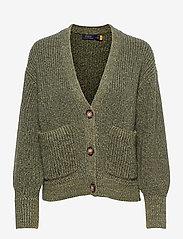 Polo Ralph Lauren - BLN SLV CARD-LONG SLEEVE-SWEATER - cardigans - olive - 0