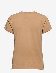 Polo Ralph Lauren - NY RL T BRNZ-SHORT SLEEVE-KNIT - t-shirts - birkshire tan - 1