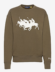 HEARD CN PO-LONG SLEEVE-KNIT - EXPEDITION OLIVE