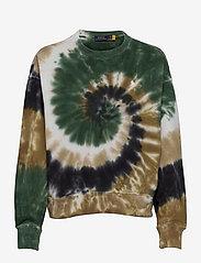 Polo Ralph Lauren - FL RLXD CN-LONG SLEEVE-KNIT - sweatshirts - forest sprial - 0
