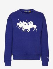 Polo Ralph Lauren - Polo Match Graphic Fleece Sweatshirt - sweatshirts - fall royal - 0