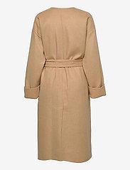 Polo Ralph Lauren - Wool-Blend Wrap Coat - winter coats - camel - 1