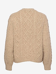 Polo Ralph Lauren - Cable-Knit Buttoned Cardigan - cardigans - light tallow done - 1