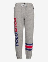 Polo Ralph Lauren - Logo Fleece Sweatpant - sweatpants - dark vintage heat - 0