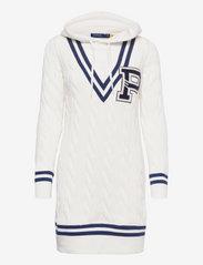 Polo Ralph Lauren - Hooded Cricket Sweater Dress - t-shirt dresses - nevis - 0