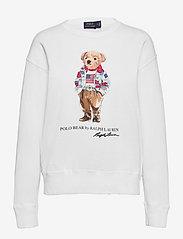 Polo Ralph Lauren - Bandanna Polo Bear Sweatshirt - sweatshirts - white - 0