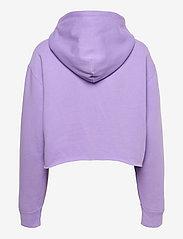 Polo Ralph Lauren - Logo Fleece Cropped Hoodie - hoodies - cruise lavender - 1