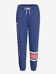 Polo Ralph Lauren - Striped-Trim Fleece Sweatpant - sweatpants - beach royal - 0