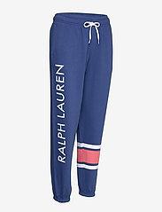 Polo Ralph Lauren - Striped-Trim Fleece Sweatpant - sweatpants - beach royal - 2