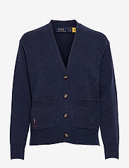 Wool-Blend Buttoned Cardigan - BOATHOUSE NAVY HE