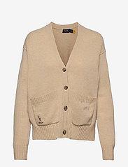 Wool-Blend Buttoned Cardigan - TALLOW CREAM HEAT