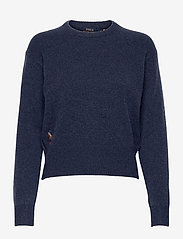 Wool-Blend Crewneck Sweater - BOATHOUSE NAVY HE