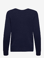 Polo Ralph Lauren - Wool-Blend V-Neck Sweater - jumpers - boathouse navy he - 1