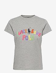 Polo Ralph Lauren - 40/1 COTTON JERSEY-SSL-TSH - t-shirts - andover heather - 0