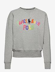 Polo Ralph Lauren - LW SEASONAL FLEECE-LSL-SWS - sweatshirts - andover heather - 0