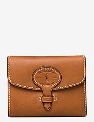 Polo Ralph Lauren - Tartan Wool Compact Wallet - wallets - cuoio - 0
